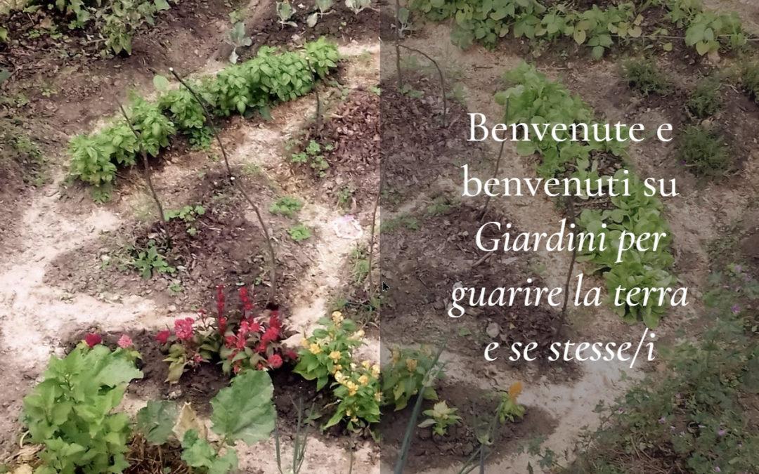 Giardini per guarire la terra e se stessi